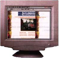 Northwest Mechanic website in 1997
