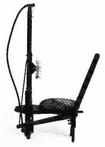 American Virginia Stool Shower - Developed in 1830s