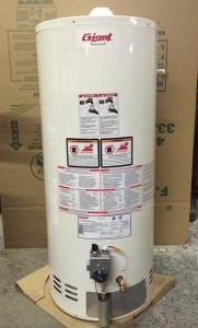 Gigantic Water Heater Recall