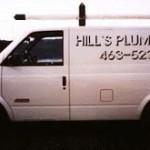 Hill's Plumbing Van