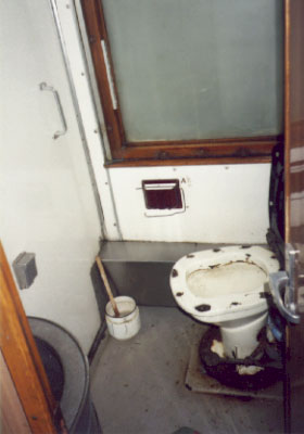 Train Car Toilet - Russia