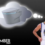 Stephen Curry dreaming about his toilet
