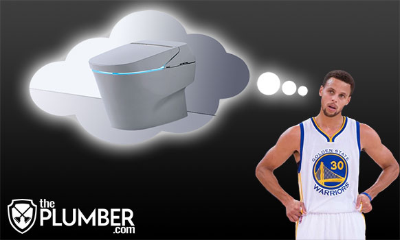 Steph Curry Dreaming of Toilet
