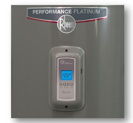 Rheem recalled water heater panel